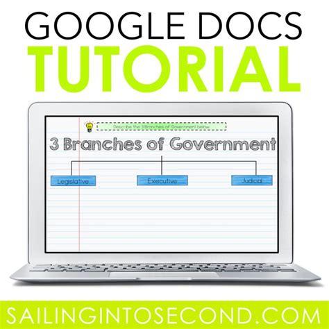 A Google Docs Tutorial - Sailing into Second   Google ...