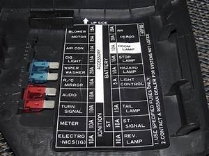 1991 Nissan 240sx Interior Fuse Diagram