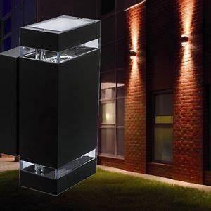 Luminaire Exterieur Mural : applique luminaire mural ext rieur clairage vers haut et ~ Edinachiropracticcenter.com Idées de Décoration