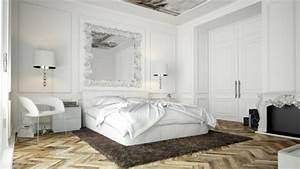 le miroir baroque est un joli accent deco archzinefr With miroir dans une chambre