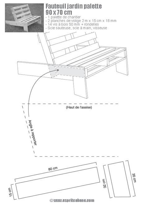 plan chaise de jardin en palette plan de chaise en bois gratuit maison design bahbe com