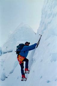 Climber Mountain Climbing