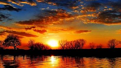Sunset Wallpapers Nature Timeline Sun Awesome Sundown
