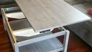 Table De Lit Ikea : table basse relevable ikea avec hemnes ~ Teatrodelosmanantiales.com Idées de Décoration