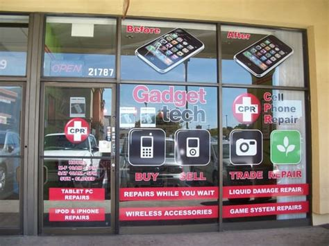 phone repair places near me cpr cell phone repair storefront in the warner plaza yelp