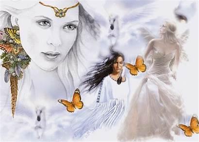 Angels Butterflies Unicorns Angel Butterfly Animated Glitter