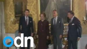 Ronald Reagan apologises to Margaret Thatcher over top ...