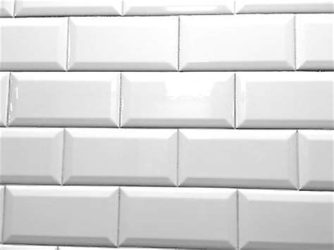 4x8 White Beveled Subway Tile by White 4x8 Subway Beveled Ceramic Tile Walls And