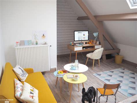chaise de cuisine confortable mon bureau scandinave et coloré gabrielle l côté maison