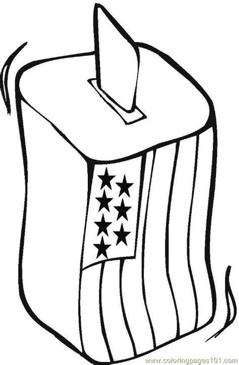 vote coloring page  politics coloring pages
