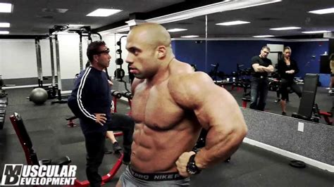 jon delarosa shoulders bodybuilding motivation youtube