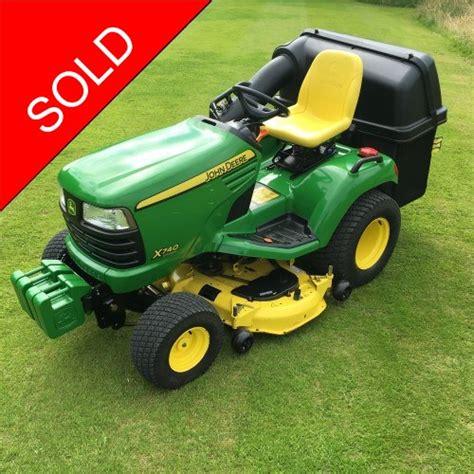 deere x740 garden tractor bertie green