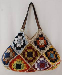 Kristi U0026 39 S Twist  Crochet Granny Square Bags  Laptop Sleeve