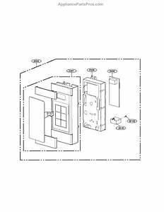 Parts For Lg Lmv1683st    00  Controller Parts