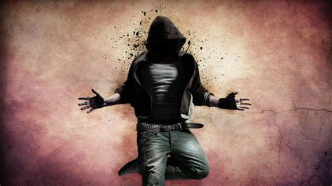 cool hood boy Full HD Wallpaper and Background Image
