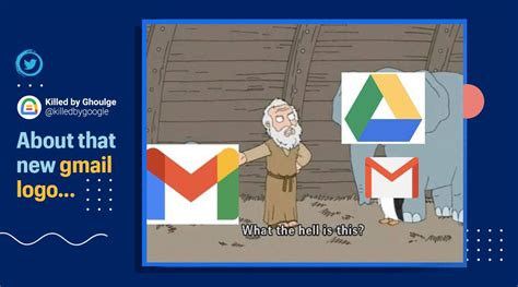 People react with memes on social media as new Gmail logo ...