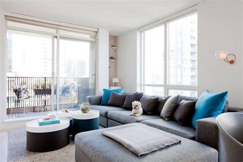 canapé 3 metres décoration style scandinave un studio design à vancouver