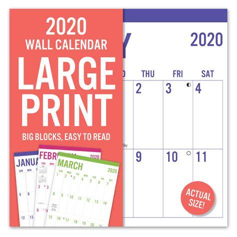 avalon wall calendar large print leap year publishing