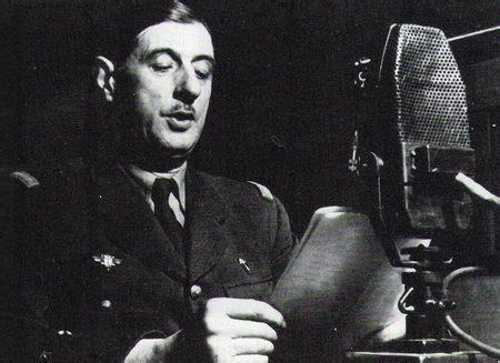 De Gaulle - Appeal of 18 June 1940 - Political & People ...