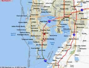 St. Petersburg FL Map