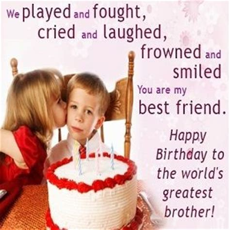 happy birthday wishes  brother  english