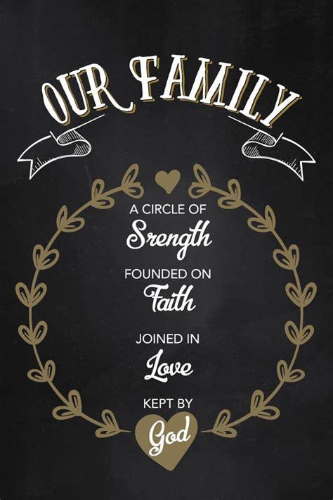 family   god family bible prints family