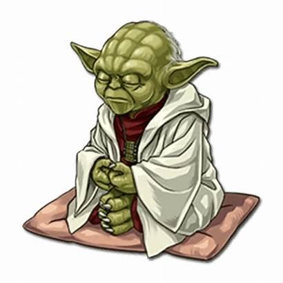 Yoda Wars Skywalker Stickers Luke Desenho Pelekat