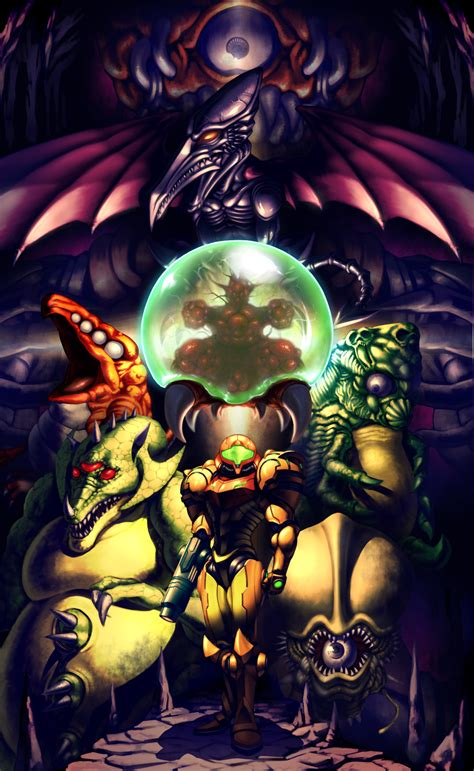 Metroid Fan Art Video Games Nintendo Super Metroid