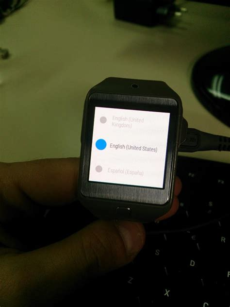 android gear developer gets android wear running on the samsung gear 2