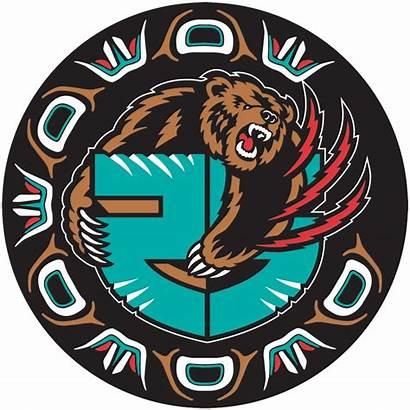 Grizzlies Memphis Nba Anniversary Vancouver Basketball Logos