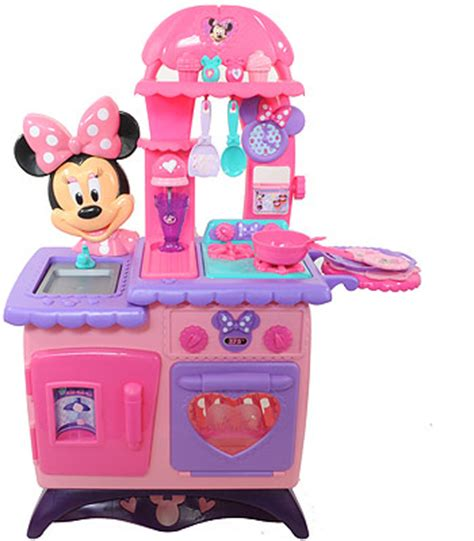 minnie mouse flippin kitchen minnie s bowtique kitchen playset only 48 98