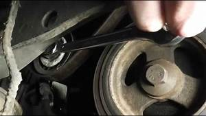 Ford Focus Serpentine    Auxiliary Belt Change