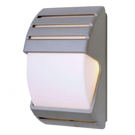 endon el 40023 ip44 dusk till wall light in black