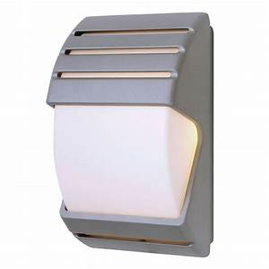 Endon el 40023 ip44 dusk till dawn wall light in black for Dusk till dawn exterior lighting