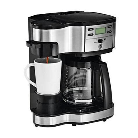 hamilton 2 way pot coffee maker best price