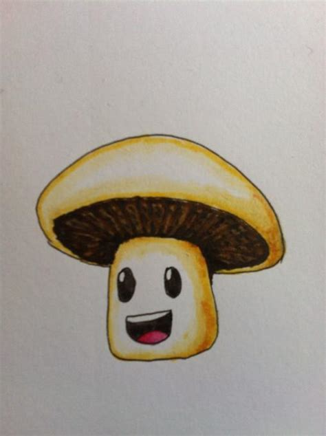mushroom guy nature drawings pictures drawings ideas