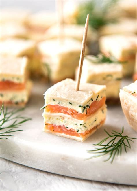 cheap easy canapes smoked salmon appetizer bites recipetin eats