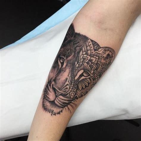 lioness tattoo design female lion tattoo ideas