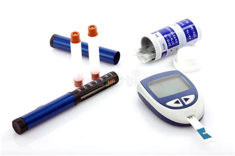 diabetes stock photo image  monitor glucometer health