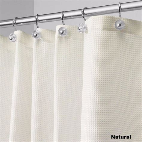 wide shower curtain carlton fabric shower curtain standard 108 quot wide or 84