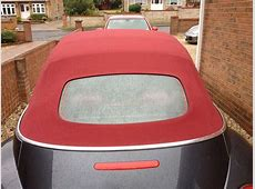 Soft Top Car Hood Replacement Norwich, Norfolk Top Job