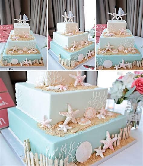 beach themed cakes ideas  pinterest beach