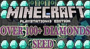 Minecraft PlayStation 3 OVER 100 DIAMOND SEED QuotEasy