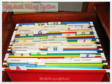 Paper Files System
