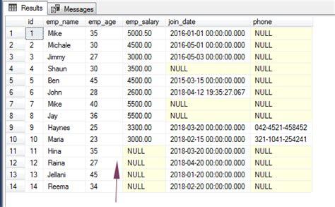 sql insert   examples    enter  records