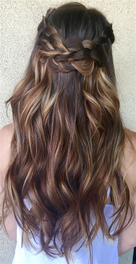 Sun In Brown Hair by Sun Kissed Balayage And Boho Braids By Genna Khein Www
