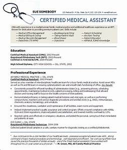 Web desings ink resume writing for Certified medical assistant resume samples