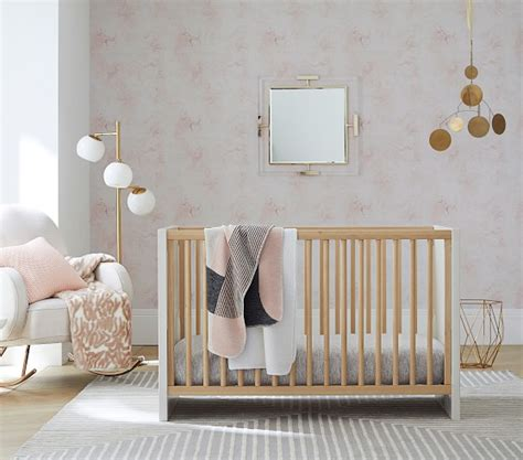 Mobile Pottery Barn by Hanging Brass Circles Modern Baby Mobile Pottery Barn