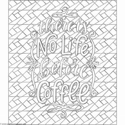 Coloring Coffee Pages There Before Getcoloringpages