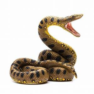 CollectA Green Anaconda Python Snake Animal Model Classic ...
